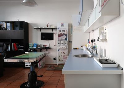 Sala visita e sala terapie